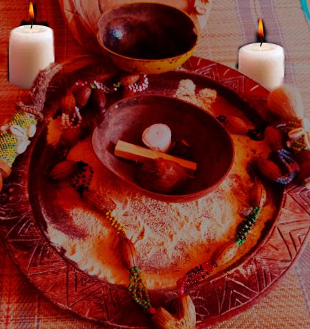 ritual amor santeria