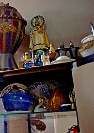 altar santos yoruba