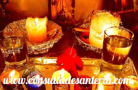 ritual velas santeria